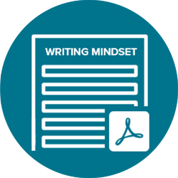 Writing Mindset Worksheet