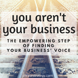 You aren't your business: divide to conquer