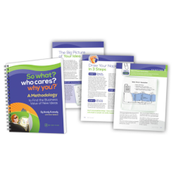 Strategy Methodology Workbook: So What? Who Cares? Why You?