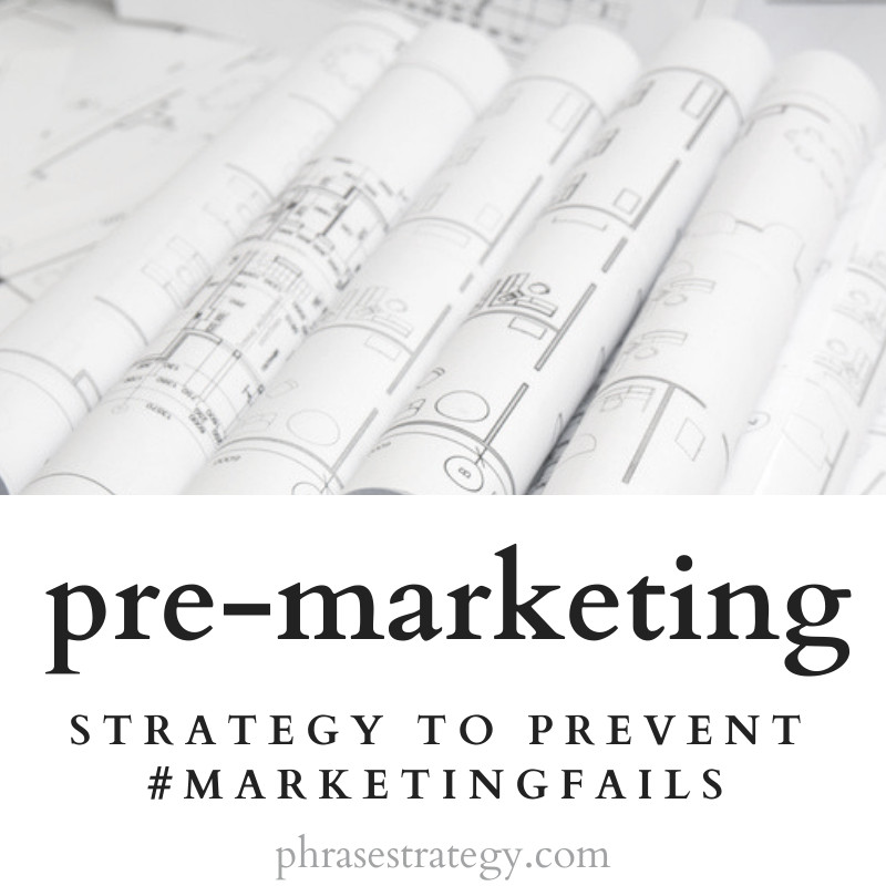 Pre-marketing: the groundwork for success
