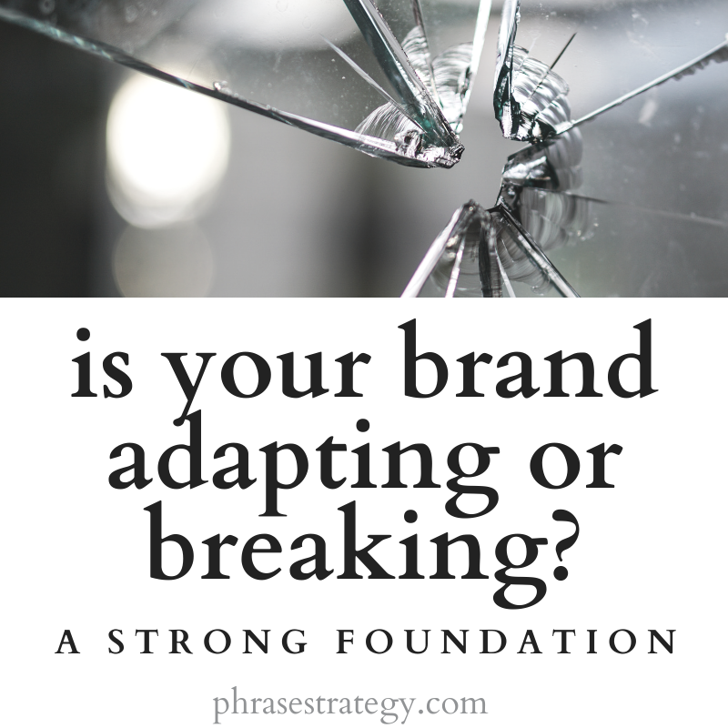 Is your brand adapting or breaking?