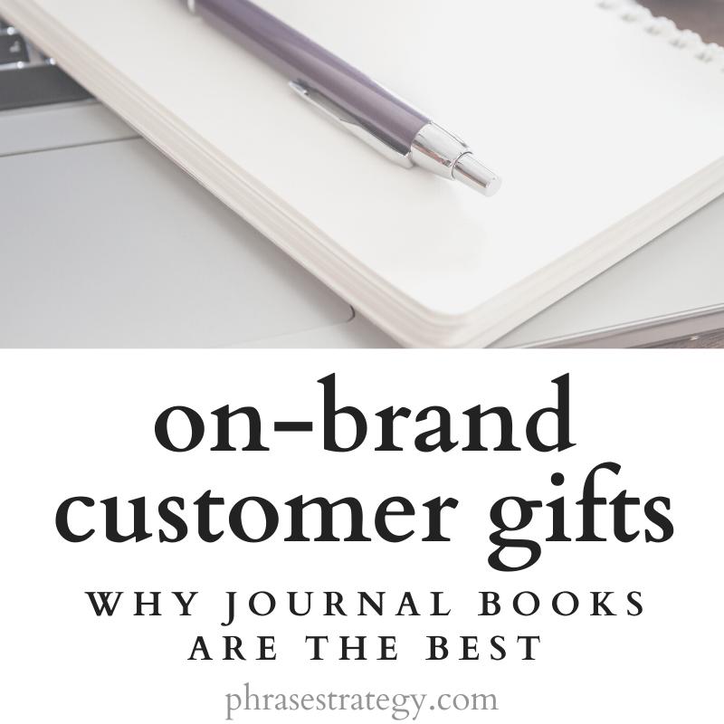 On-brand customer gifts