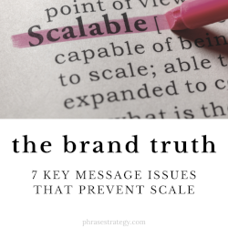 The brand truth